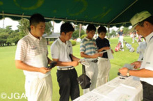 日本ジュニアゴルフ選手権 霞ヶ関カンツリーサムネイル